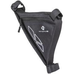 Trikotna torbica M-Wave za okvir-Black