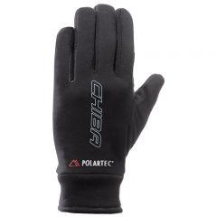 Dolge kolesarske rokavice Chiba Polartec Reflex-Black