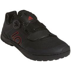 MTB kolesarski čevlji Five Ten Kestrel Lace Pro Boa- black/red/grey