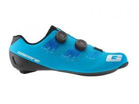 Kolesarski cestni čevlji Gaerne Carbon Chrono-Matt Light Blue