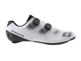 Kolesarski cestni čevlji Gaerne Carbon Chrono-Matt White