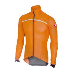 Kolesarska jakna Castelli Superleggera-Orange