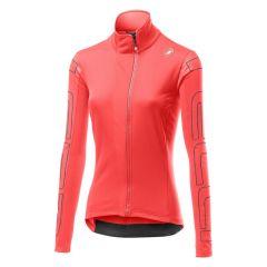 Ženska kolesarska jakna Castelli Transition-Briliant Pink