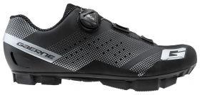 Ženski kolesarski MTB čevlji Gaerne Hurricane Lady-Matt Black
