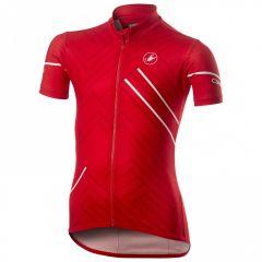 Otroški kolesarski dres Castelli Campioncino-Red