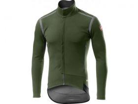 Kolesarska jakna Castelli Perfetto RoS-Military Green