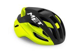 Kolesarska čelada MET Rivale Mips-Black/Fluo Yellow