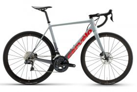 Cestno kolo Cervelo R-series Ultegra Di2 Disc 2021- Grey/Red