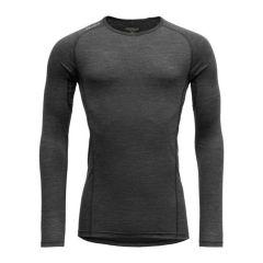 Majica z dolgimi rokavi Devold Running Shirt - Anthracite