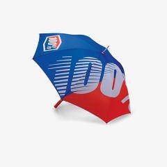 Dežnik 100% Premium Blue/Red