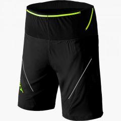 Kratke tekaške hlače Dynafit Ultra 2 in 1 - Black Out