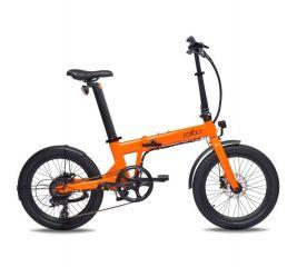 Zložljivo električno kolo EOVOLT Comfort-Orange