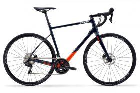 Endurance cestno kolo Cervélo C2 Disc 105 2020- Navy/Tangerine