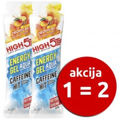 Energijski gel High 5 Energy Gel Aqua Kofein HIT