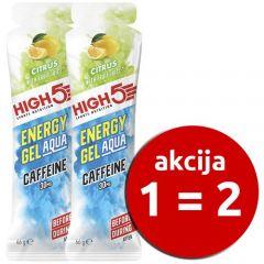 Energijski gel High 5 Energy Gel Aqua Kofein