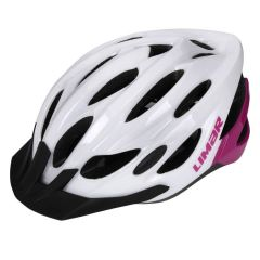 Kolesarska čelada Limar Scrambler - White Pink