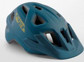 Kolesarska čelada MET Echo-Petrol Blue