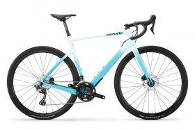 Gravel cestno kolo Cervélo Aspero Disc GRX RX600 2021- Seabreeze/Blue