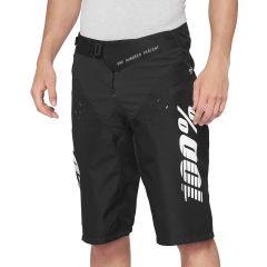Kolesarske hlače 100% R-CORE Shorts-Black