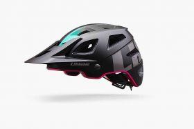 Ženska kolesarska čelada Limar Delta-Matt Black Pink