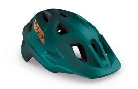 Kolesarska čelada MET Echo -Alpine Green/Orange