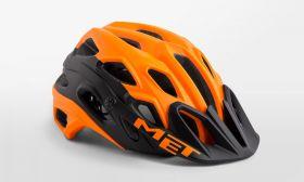 Kolesarska čelada MET Lupo- Orange Matt