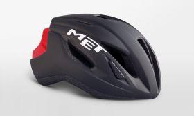 Kolesarska čelada MET Strale- Black/Red
