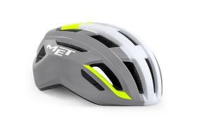 Kolesarska čelada MET Vinci MIPS - Grey/Fluo
