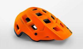 Kolesarska čelada MET Terranova- Orange Black