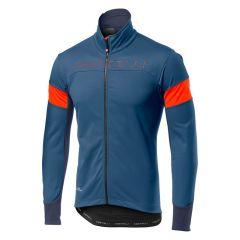 Kolesarska jakna Castelli Transition-Blue