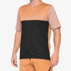 kolesarska-majica-100percent-airmatic-jersey-caramel-front