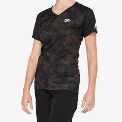 kolesarska-majica-100percent-airmatic-womens-jersey-black-front