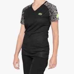 kolesarska-majica-100percent-airmatic-womens-jersey-python-front