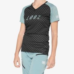 kolesarska-majica-100percent-airmatic-womens-jersey-seafoam-front