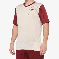 kolesarska-majica-100percent-ridecamp-jersey-stone-front