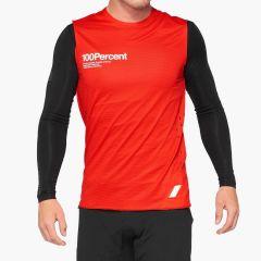 Kolesarska majica 100% R-CORE Concept Jersey-Red