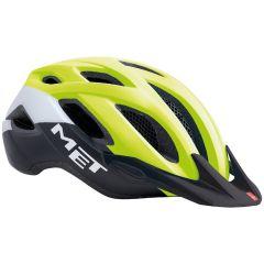 Kolesarska čelada MET Crossover-Safety Yellow/Black
