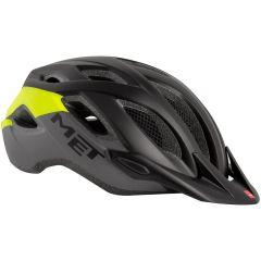 Kolesarska čelada MET Crossover-Black/Safety Yellow