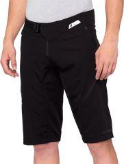 Kolesarske hlače 100% Airmatic Shorts- Black