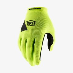 MTB kolesarske rokavice 100% Ridecamp - Fluo Yellow