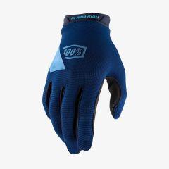 MTB kolesarske rokavice 100% Ridecamp - Navy