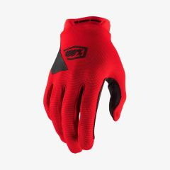 MTB kolesarske rokavice 100% Ridecamp - Red