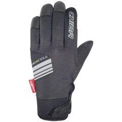 Dolge kolesarske rokavice Chiba BioXcell-Black