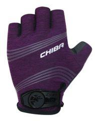 Kolesarske rokavice Chiba Lady Super Light-Violet