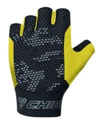 Kolesarske rokavice Chiba Pure Race-Neon Yellow
