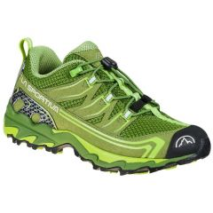 Otroški tekaški čevlji La Sportiva Falkon Low 30-35 - Kale/Lime