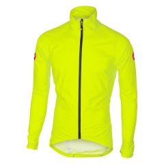 Moška kolesarska dežna jakna Castelli Emergency/Fluo Yellow