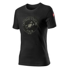 Moška kratka majica Castelli Armando-Vintage Black