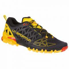 Tekaški čevlji La Sportiva Bushido II - Black/Yellow