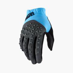 MTB kolesarske rokavice Geomatic - Cyan/Charcoal